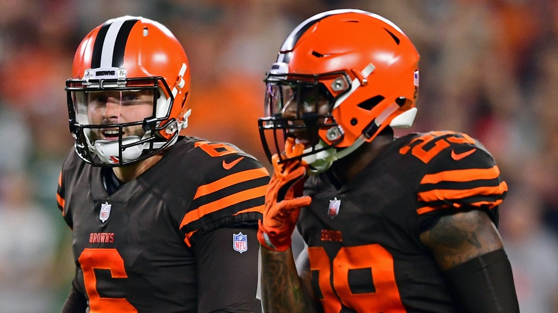 Cleveland Gas Prices >> WATCH: Baker Mayfield catches game-tying two-point ...