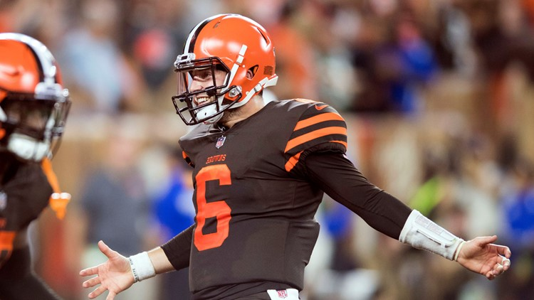 RECAP  Cleveland Browns name rookie Baker Mayfield starting QB ... 13fc276c0