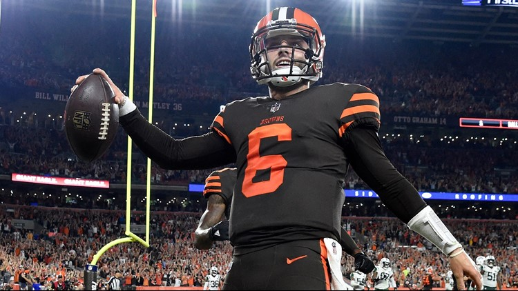 46e1031e0 Cleveland Browns to wear  Color Rush  uniforms vs. Baltimore Ravens ...