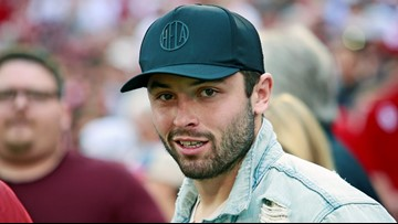 best service ff141 f3347 Cleveland Browns QB Baker Mayfield launches apparel line ...