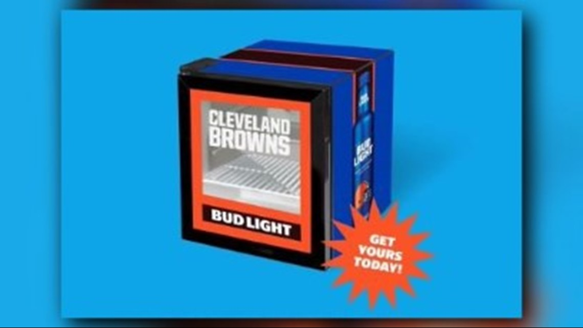 Bud Light announces sale of fun size Cleveland Browns 'victory