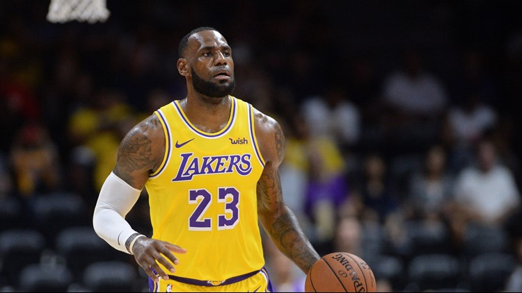 in L.A. theatrics James mixes LeBron Lakers excitement,
