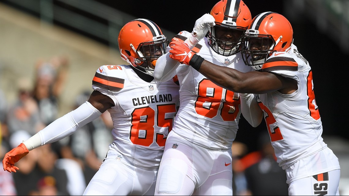 Akron Gas Prices >> What was the celebration Cleveland Browns TEs Darren Fells ...