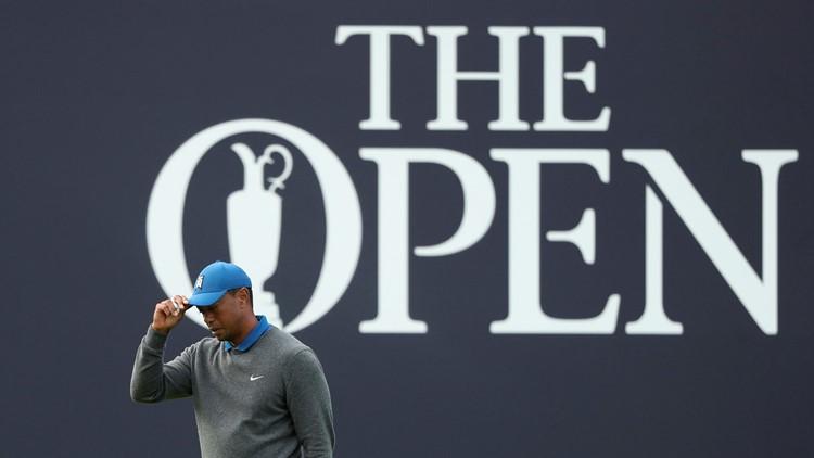 Tiger Woods British Open Golf
