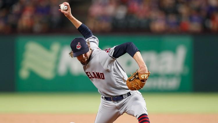 Cleveland Indians reliever Adam Cimber