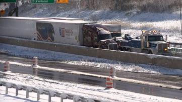 1 person dead following crash on Ohio Turnpike near Richfield