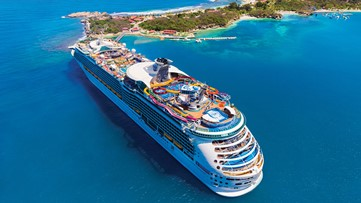 """Watch """"What's Next"""" weeknights at 11pm and you could win a 5-night Royal Caribbean cruise"""