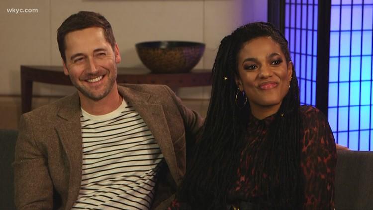 WKYC's Betsy Kling talks with stars of NBC's 'New Amsterdam'