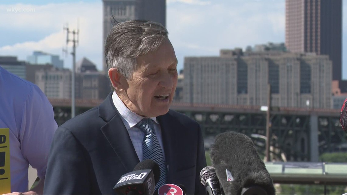 Dennis Kucinich lays out vision for fighting crime in Cleveland during mayoral announcement