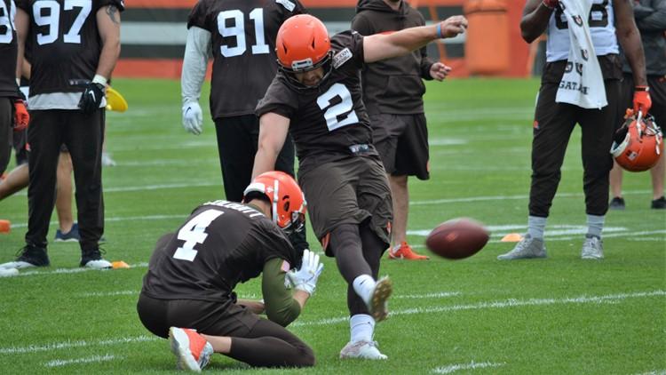 Cleveland Browns OTAs: Austin Seibert