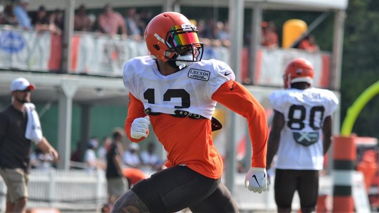 Odell Beckham Jr. Cleveland Browns Training Camp August 6, 2019