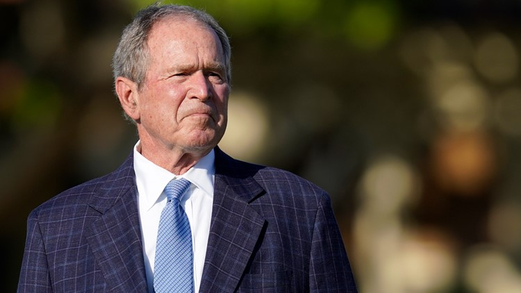 Former President George W. Bush honored at Akron's Firestone Country Club