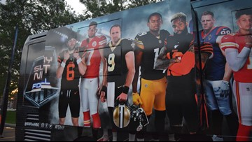 Watch: Channel 3's Jay Crawford takes a tour of the Sunday Night Football bus