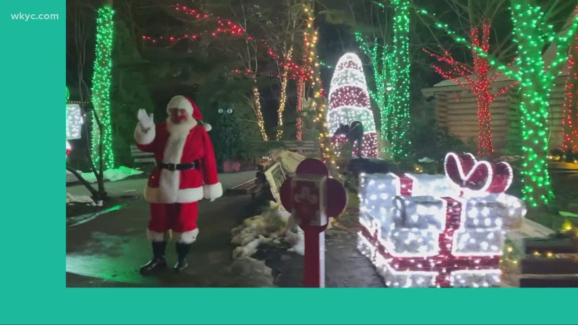 Wild Winter Lights at Cleveland Metroparks Zoo: GO-HIO