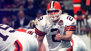 Former Browns QB Tim Couch, OSU alums on College Football Hall of Fame ballot