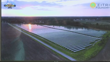 Grafton flips the switch on solar energy farm with 'Project Beacon'