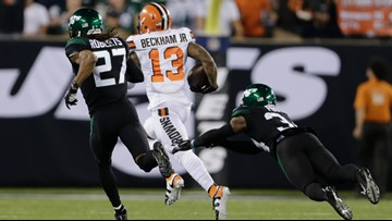 Odell Beckham Jr. reached 21 MPH on first Cleveland Browns touchdown