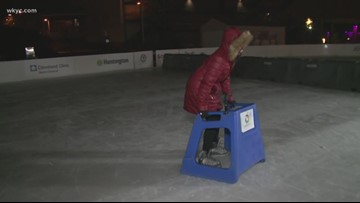 Ice bumper cars in Akron: Special 'vehicle' for kids