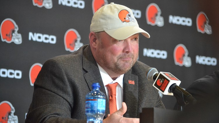 New Cleveland Browns coach Freddie Kitchens