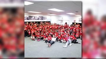 Justin Timberlake, Jessica Biel visit I PROMISE School in Akron