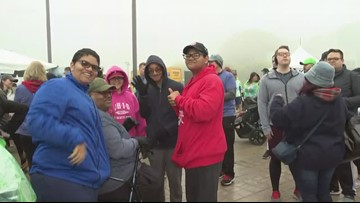 Diversity Walk, Rock and Run happens today at the Rock and Roll Hall of Fame