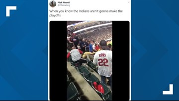 Video: Fight at Saturday's Cleveland Indians game leads to plenty of internet commentary; 3 arrested