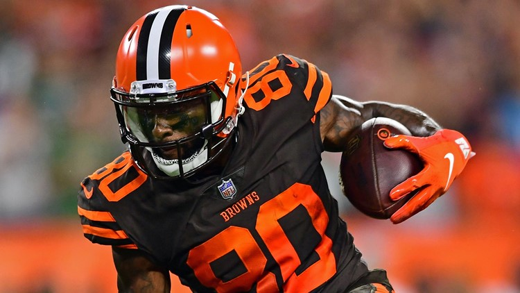 """Coach Hue Jackson loves the fact that wide receiver Jarvis Landry continues to """"walk the talk,"""" make plays for the Cleveland Browns."""