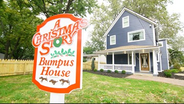 Bumpus House moves next door to 'A Christmas Story' house and you can stay overnight; PHOTOS
