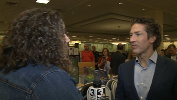 Televangelist Joel Osteen in Cleveland for 'A Night of Hope'