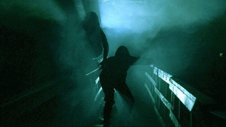 This isn't your ordinary haunted house because the terror takes place 80 feet underground.