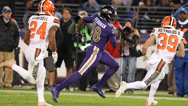 Reportedly, the Cleveland Browns will sign free-agent wide receiver Breshad Perriman Saturday.