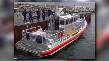 Coast Guard rescues two boaters from Lake Erie near Lorain