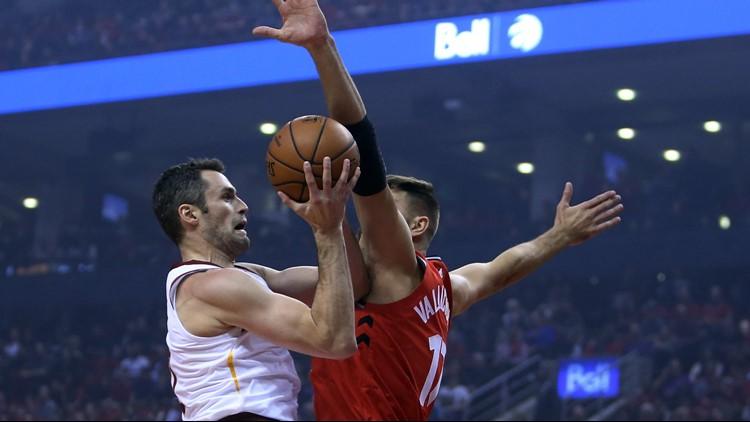 3398d343b RECAP  Cleveland Cavaliers drop season opener vs. Toronto Raptors 116-104