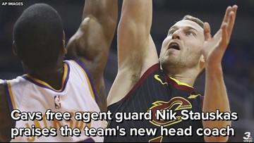 Nik Stauskas says new Cavs coach John Beilein is a 'basketball genius'