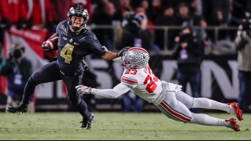 Ohio State drops to No. 11 in AP rankings following loss to Purdue