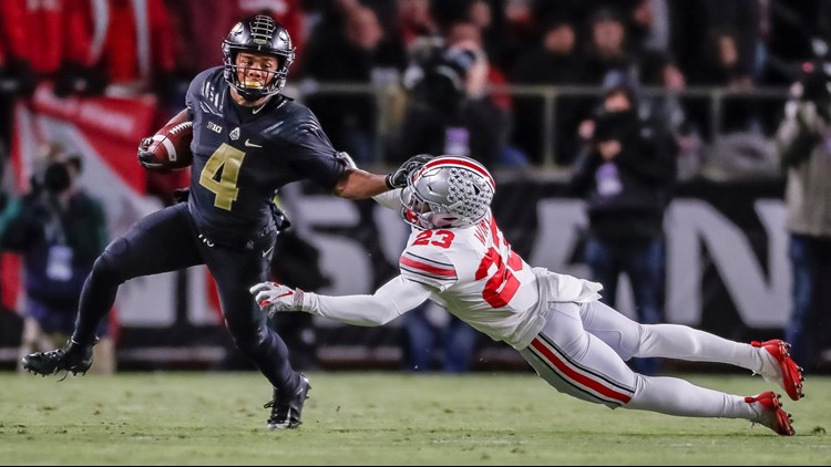 560ab75a75d2 Ohio State drops to No. 11 in AP rankings following loss to Purdue ...