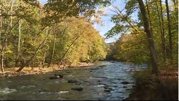 Where are the beautiful Fall colors across Northeast Ohio?