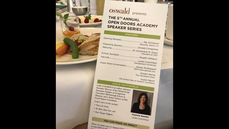 Open Doors Academy 5th annual Speaker Series underway | wkyc com