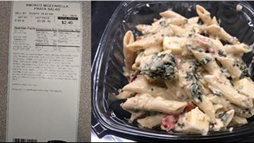 Giant Eagle issues recall for Smoked Mozzarella Pasta Salad