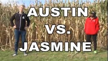 The amazing corn maze race at Patterson Fruit Farm