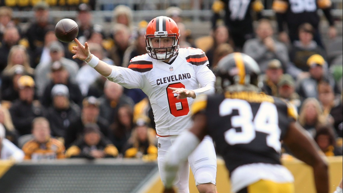 Photos Cleveland Browns Face Pittsburgh Steelers In Key Afc North
