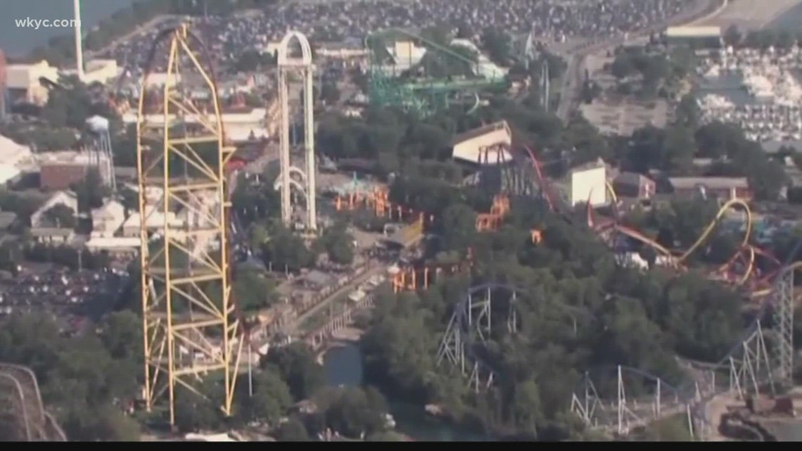 Witnesses describe the scene of woman being hit by piece of metal at Cedar Point's Top Thrill Dragster