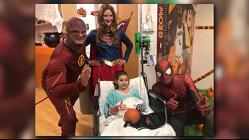 Cleveland Clinic hosts superhero-themed Halloween party for pediatric kids