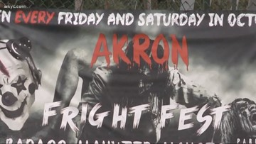 Akron Fright Fest 'R-rated' haunted house sued by couple after alleged mock rape incident