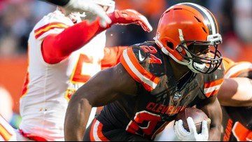 Cleveland Browns RB Nick Chubb wins FedEx Ground Player of the Week Award