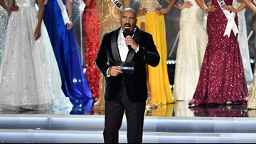 Steve Harvey says he nearly teared up when the Cleveland Browns tied the Pittsburgh Steelers