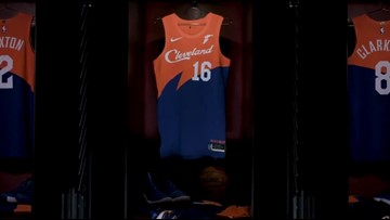 save off ccec4 e0909 Cleveland Cavaliers unveil new 'City Edition' jerseys for ...