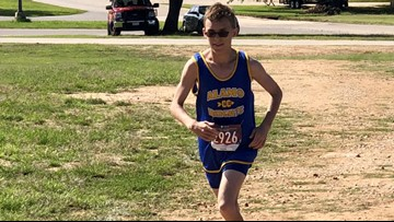 High school runner always finishes last, but never quits