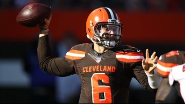Baker Mayfield: I felt like I was in great rhythm for Cleveland Browns in win over Atlanta Falcons