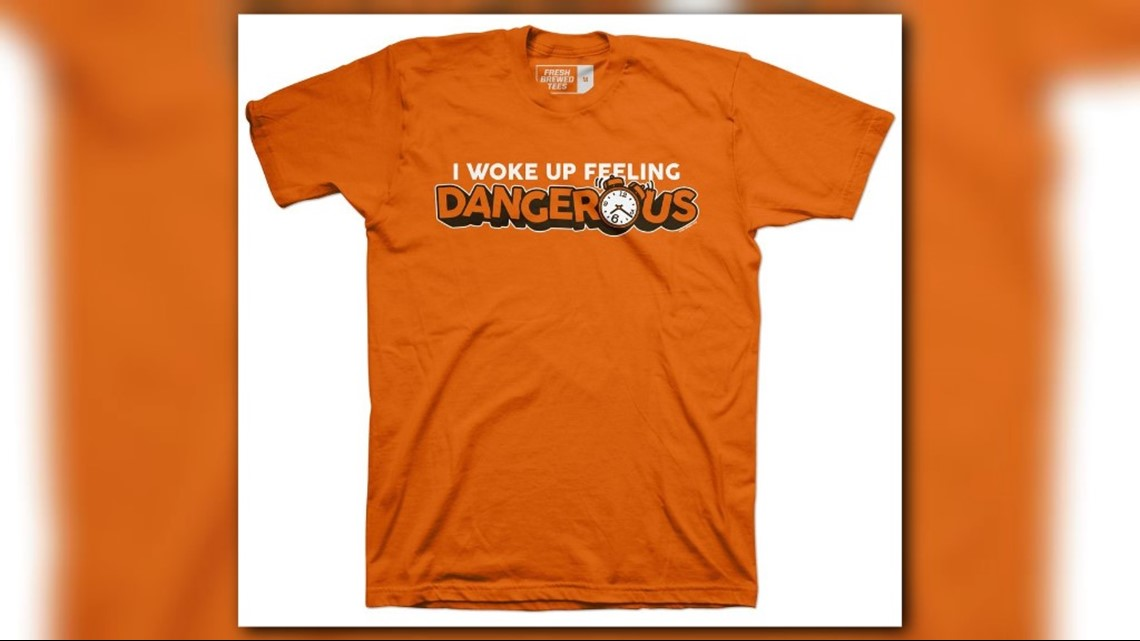 749a03b59 Cleveland Browns QB Baker Mayfield  Dangerous  t-shirts already available  for sale
